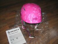 GIRLS SCOTT SKI ,SNOWBOARD HELMET
