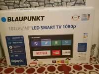 Blaupunkt smart tv 40 inches LED