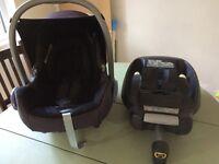 Maxi Cosi Cabriofix and Seat Base Car Seat
