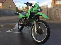 Kawasaki KLR/KL 250 road registered
