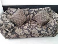 Furniture village sofa purple
