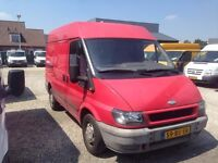 CLEAN LEFT HAND DRIVE MEDIUM WHEEL BASED FORD TRANSIT VAN, DRIVES PERFECTLY, GOOD LOAD SPACE...CALL