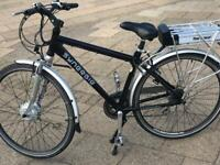 Electric bike with new battery