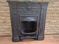 Restored Cast Iron Fireplace