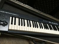 USB M-AUDIO KEYSTATION 61- New, in perfect condition