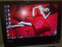 Lenovo A70Z. Core duo E6500 3 GHZ.4GB Ram. 320GB HDD WINDOWS 7PRO 64BIT WIFI
