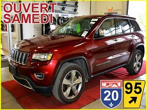 2016 Jeep Grand Cherokee LIMITED * AWD * GROUPE LUXE * GPS * TOI