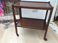 tea trolley vintage in good condition