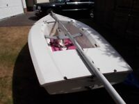Tazar class 2 man sailing dingy. 4m x 1.7.