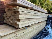 "6x2"" Treated Timber Length 3.6m - Bulk Buy Available"