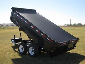 2016 Load Trail Tandem Axle Low-Pro Dump Trailer - $144/month London Ontario image 4