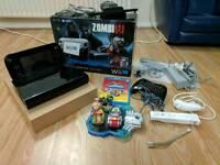 Wii u premium 32gb console and game