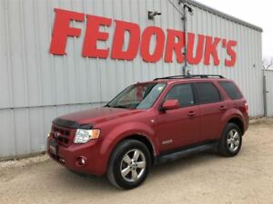 2008 Ford Escape Limited 1 YR WARRANTY INCLUDED!!