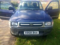 Toyota Hilux 2.4TD Single Cab Pick Up (Price is including VAT)