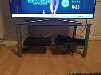 Glass tv stand, good condition, £10 ono