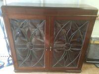 Art Nouveau glazed bookcase