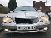 Mercedes Benz C240 Auto 110,000 MOT June £650 swap or px