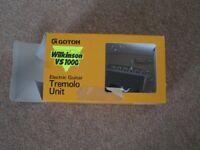 Wilkinson Gotoh VS100G tremolo unit - twin pivot