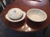 Two serving dishes