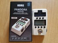 KORG Pandora Stomp Multi FX Pedal