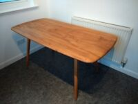 Vintage Ercol Plank Dining Table