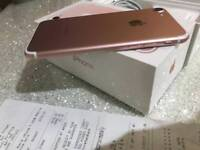 Iphone 7 rose gold (4 months warranty Left )