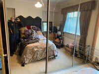 sliding mirror door fitted wardrobe