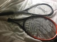 Tennis & squash racquets