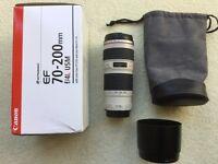 Cannon EF 70-200 f/4 L USM Lens