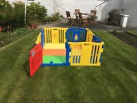 Large playpen with free balls - RRP £129