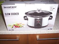 SILVER CREST slow cooker