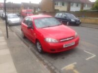 CHEVROLET LACETTI 55 REG ONLY 61000 MILES AIR CON