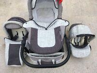 3in1 baby stroller