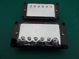 Chrome Humbucker pickups brand new high output