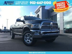 2016 Ram 1500 LARAMIE 4X4 - 6 SPEED MAUAL, SUNROOF, LEATHER, NAV