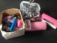 Nail varnish and accessories