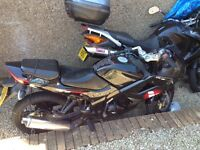 Lexmoto Xtrs125cc, great learner bike, Honda CBR Clone ( parts are interchangeable )