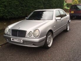 Mercedes Benz E280, V6, 200+BHP, Full AMG Body Kit, Possible Part Ex (Motorcycle)