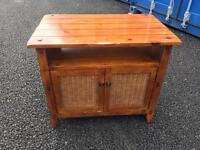 Solid wood side unit / cabinet