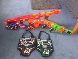 Selection of Nerf Guns