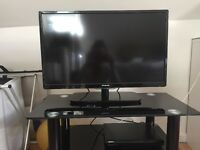 "28"" Polaroid HD ready LED TV with Now TV box"