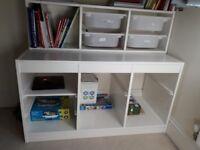 shelves storage unit for children