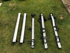 Thule roof bars and cycle carriers