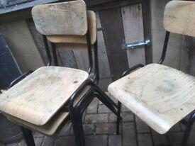 Chairs black legs
