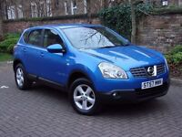 EXCELLENT DIESEL!!! 2008 NISSAN QASHQAI 1.5 dCi ACENTA 5dr, 1 YEAR MOT, 2 FORMER KEEPERS, WARRANTY