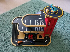 Big City Wooden Garage - from Early Learning Centre (ELC) (used)