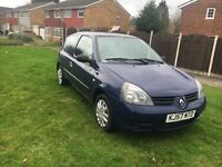 Renault Clio 57 plate low millig hpi clear