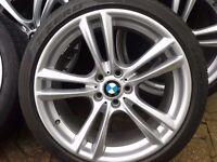 """F01 BMW 7 M sport 20"""" Genuine Alloy Wheels"""