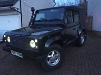 LAND ROVER DEFENDER 90 TDI, COUNTY PACK, FULL YEARS MOT WITH NO ADVISORIES