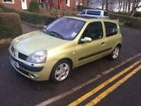 2005 RENAULT CLIO 1.6 16v DYNAMIQUE GREAT CONDITION